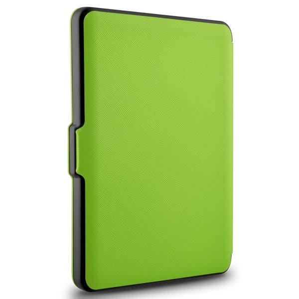INSTEN Leather Folio Book-Style Flip Tablet Case Cover For Amazon Kindle 6 2014 Version