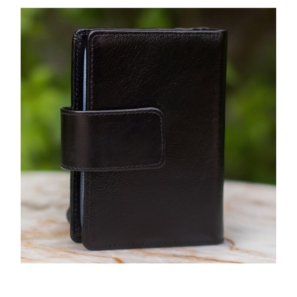 Handmade Leather Infinite Black Wallet (Thailand) 14439051