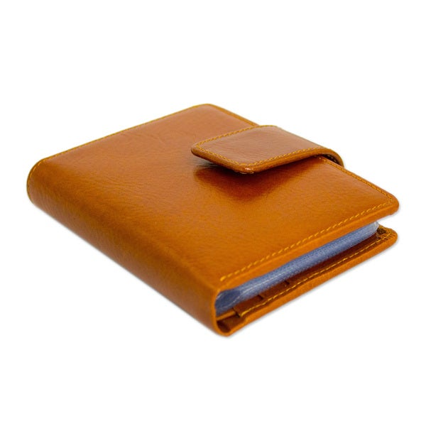Handcrafted Leather Infinite Brown Wallet (Thailand) 14439052
