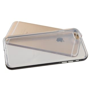 INSTEN Transparent Clear TPU Rubber PC Phone Case Cover For Apple iPhone 6 Plus 5.5-inch
