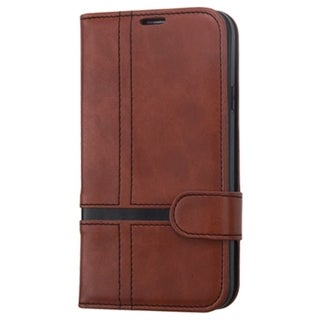 INSTEN Leather Wallet Folio Book-Style Flip Phone Case Cover With Stand For Samsung Galaxy S5 SM-G900