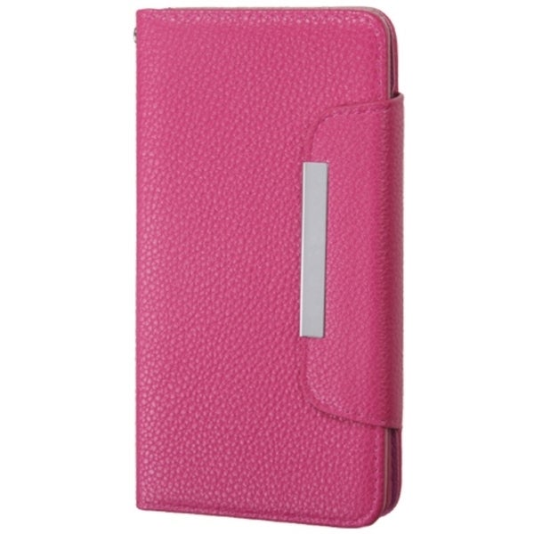 INSTEN Leather Wallet Folio Book-Style Flip Phone Case Cover With Stand For LG G3