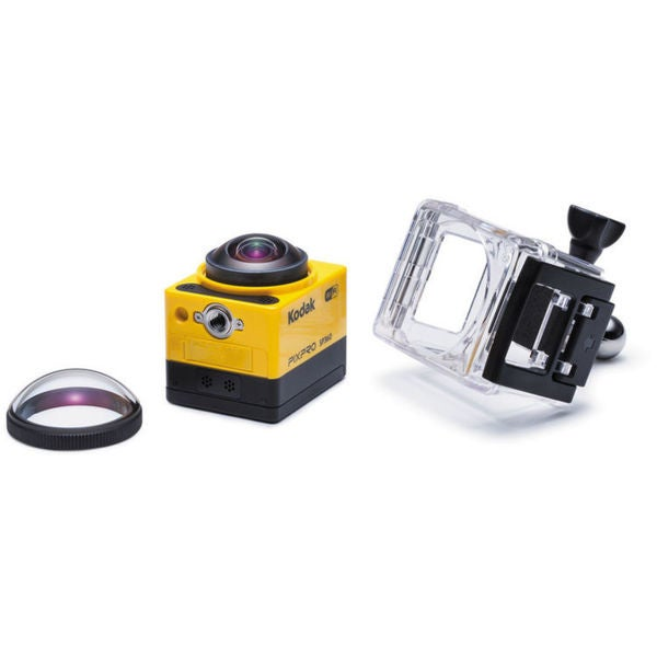 Kodak PIXPRO SP360 Full HD Action Camera with Extreme Pack