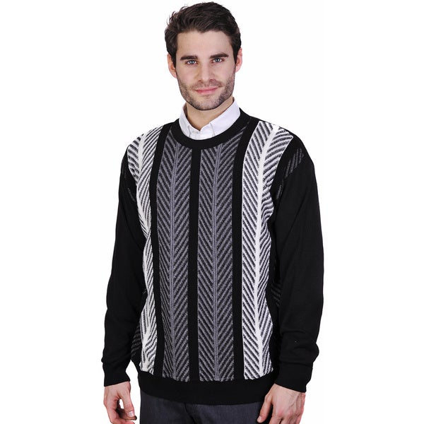 Men's Merino Wool Crew Neck Sweater