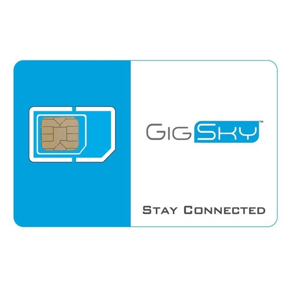 GigSky Global Data International SIM Card