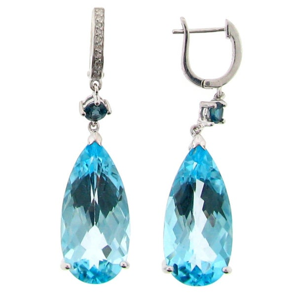 meredith leigh sterling silver gemstone and dangle