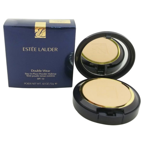 Estee Lauder Double Wear Stay-In-Place #05 Shell Beige Powder Makeup SPF10