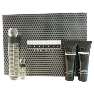 Perry Ellis Reserve Men's 4-piece Fragramce Set