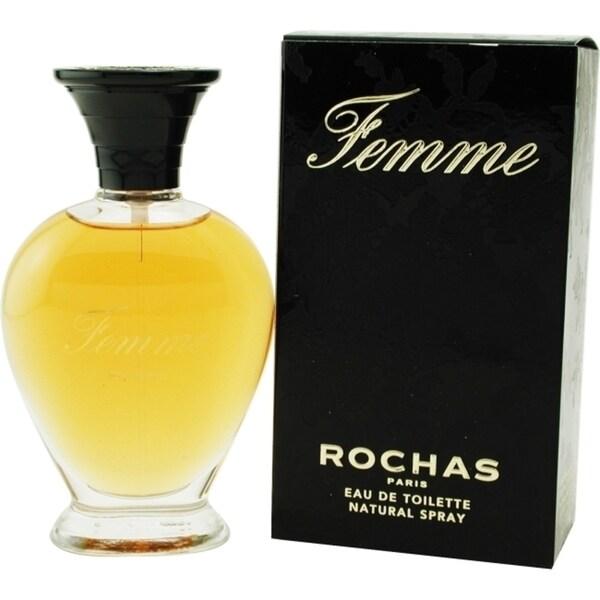 Rochas Femme Rochas Women's 1.7-ounce Eau de Toilette Spray