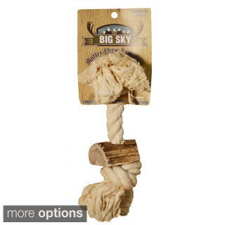 Big Sky Antler Chew Rope Dog Toy
