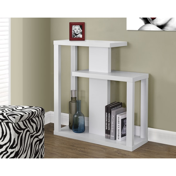 details about white hall console accent table coffee decor home living