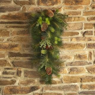 Sage & Co Sage & Co Pine/ Fir Cedar Door Swag