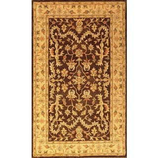 Hand-Tufted Aberdeen Brown Area Rug (5' x 8')