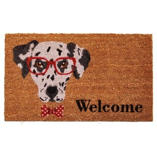 Mr. Belvodore Coir with Vinyl Backing Doormat (1'5 x 2'5)