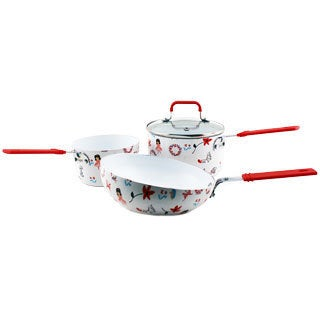 BergHoff Children Line Girl's Cookware Set