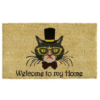 Catankerous Coir with Vinyl Backing Doormat (1'5 x 2'5)