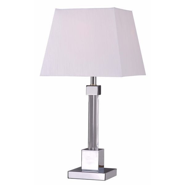 Pinnacle Chrome Table Lamp
