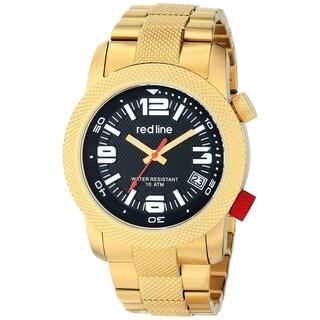 Red Line Men's RL-50043-YG-11 Octane Black Watch