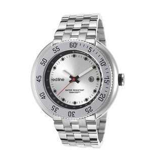 Red Line Men's RL-50039-22S Driver Silvertone Watch