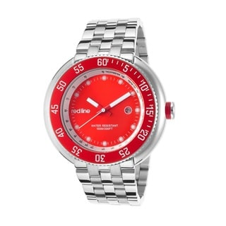 Red Line Men's RL-50039-55 Driver Red Watch