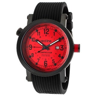 Red Line Men's RL-18003-BB-05 Compressor Red Watch