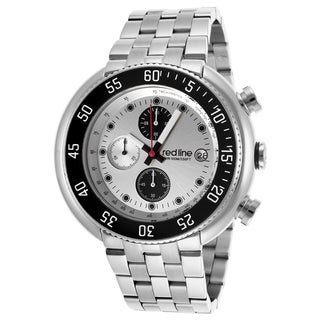 Red Line Men's RL-50038-22S Driver Silvertone Watch
