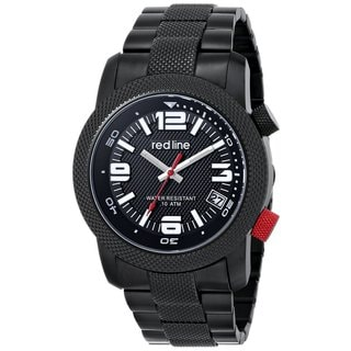 Red Line Men's RL-50043-BB-11 Octane Black Watch