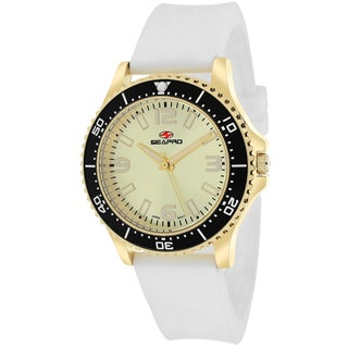 Seapro Women's SP5419 Tideway Round White Strap Watch
