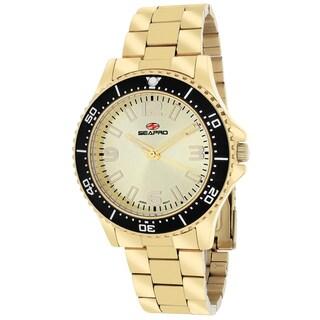 Seapro Women's SP5413 Tideway Round Gold Bracelet Watch