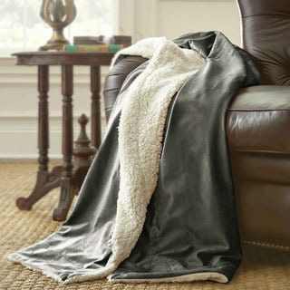 Micro Mink/ Sherpa Throw