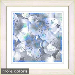 Studio Works Modern Zhee Singer 'Carmel Flowers' Framed Fine Art Print