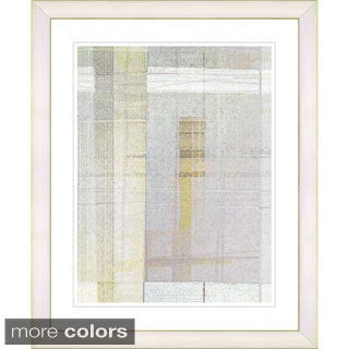 Studio Works Modern 'Snowblind Series IV - Spring Birch' Framed Fine Art Print