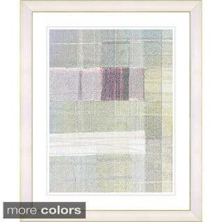 Studio Works Modern 'Snowblind Series V - Green Rose' Framed Fine Art Print