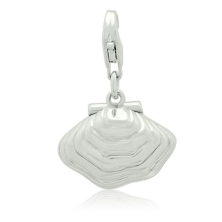Gioelli Sterling Silver Oyster Charm