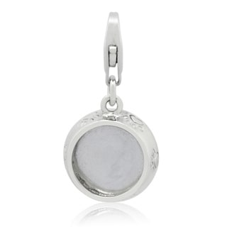 Gioelli Sterling Silver Pet Dish Charm
