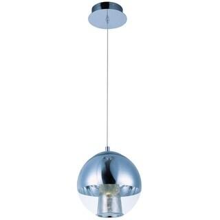 Reflex Chrome Metal 1-light Single Pendant