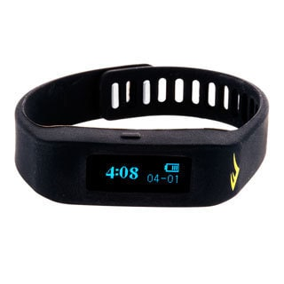Everlast Wireless Fitness Activity Tracker Sleep Black TR1 Monitor Watch