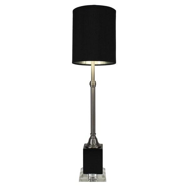 Antique Nickel Finish Adjustable Lamp