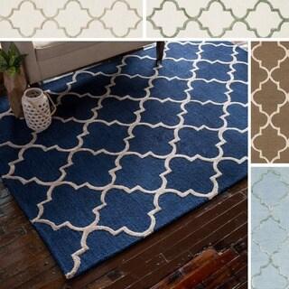 Hand-Hooked Carolyn Moroccan Trellis Rug (3'6 x 5'6)