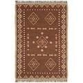 Woven Bradford Jute Wool Flat Weave Rug (10'x14')
