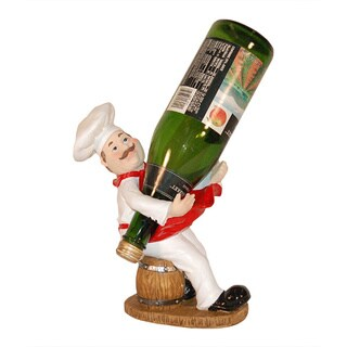 Funny Chef Sculpted Wine Bottle Holder