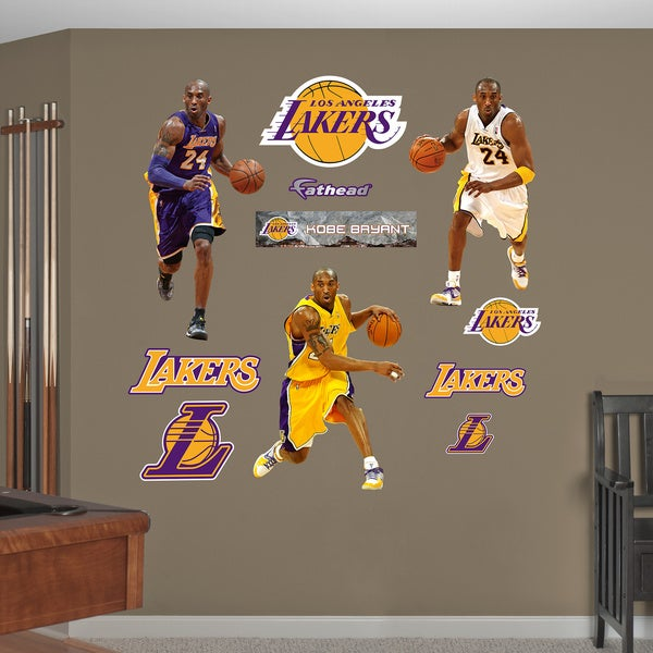 Fathead Kobe Bryant Hero Pack Wall Decals