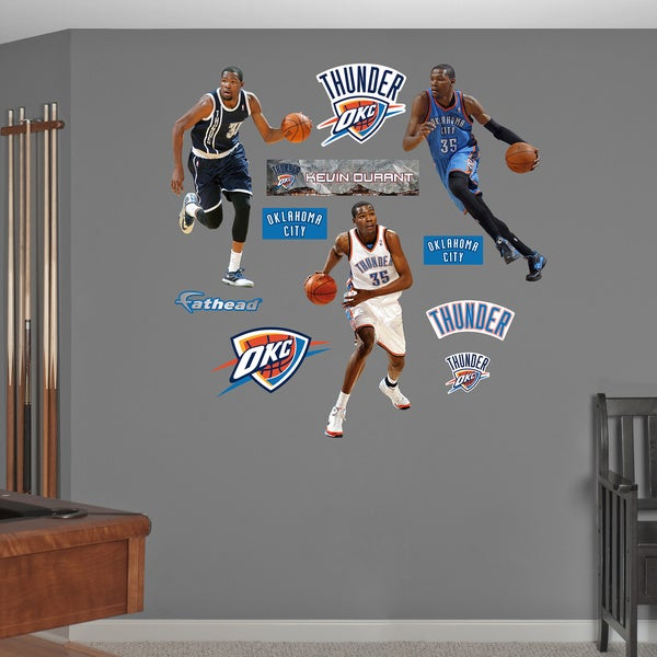Fathead Kevin Durant Hero Pack Wall Decals 14441777