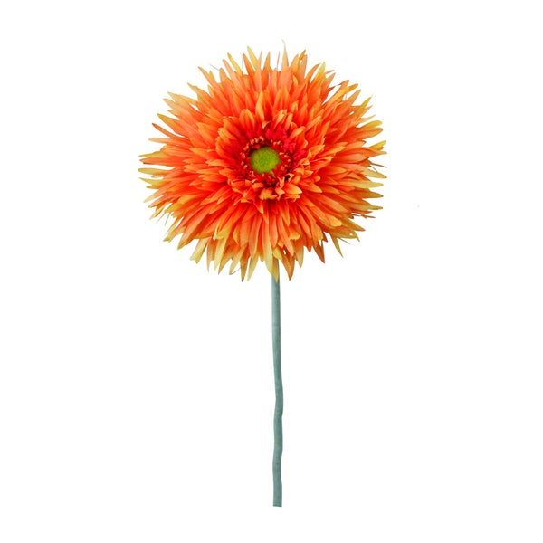 Gold 40-inch Gerbera Daisy Decorative Flower (Set of 12)