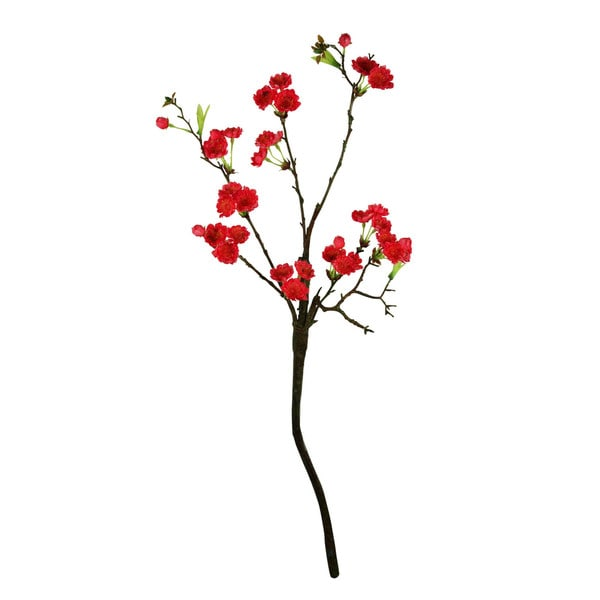 Fuchsia 30-inch Cherry Blosson Decorative Flower (Set of 6)