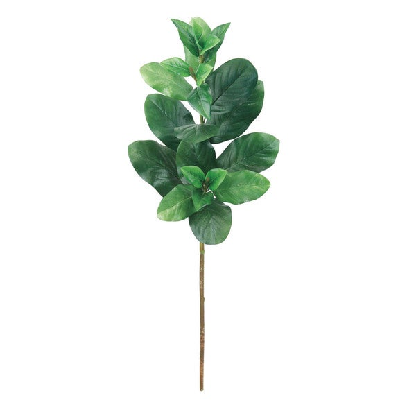 Green 31-inch Magnolia Foliage Decorative Flower (Set of 12)