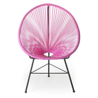 Design Tree Home Pink Acapulco Lounge Chair (China)