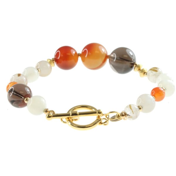Michael Valitutti Wrap Multi-gemstone Bracelet