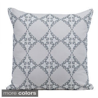 Exotic Feather/ Down 20-inch Throw Pillow