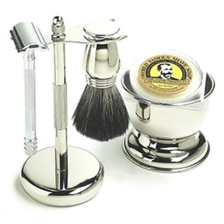 Merkur 5-piece Chrome Shaving Set